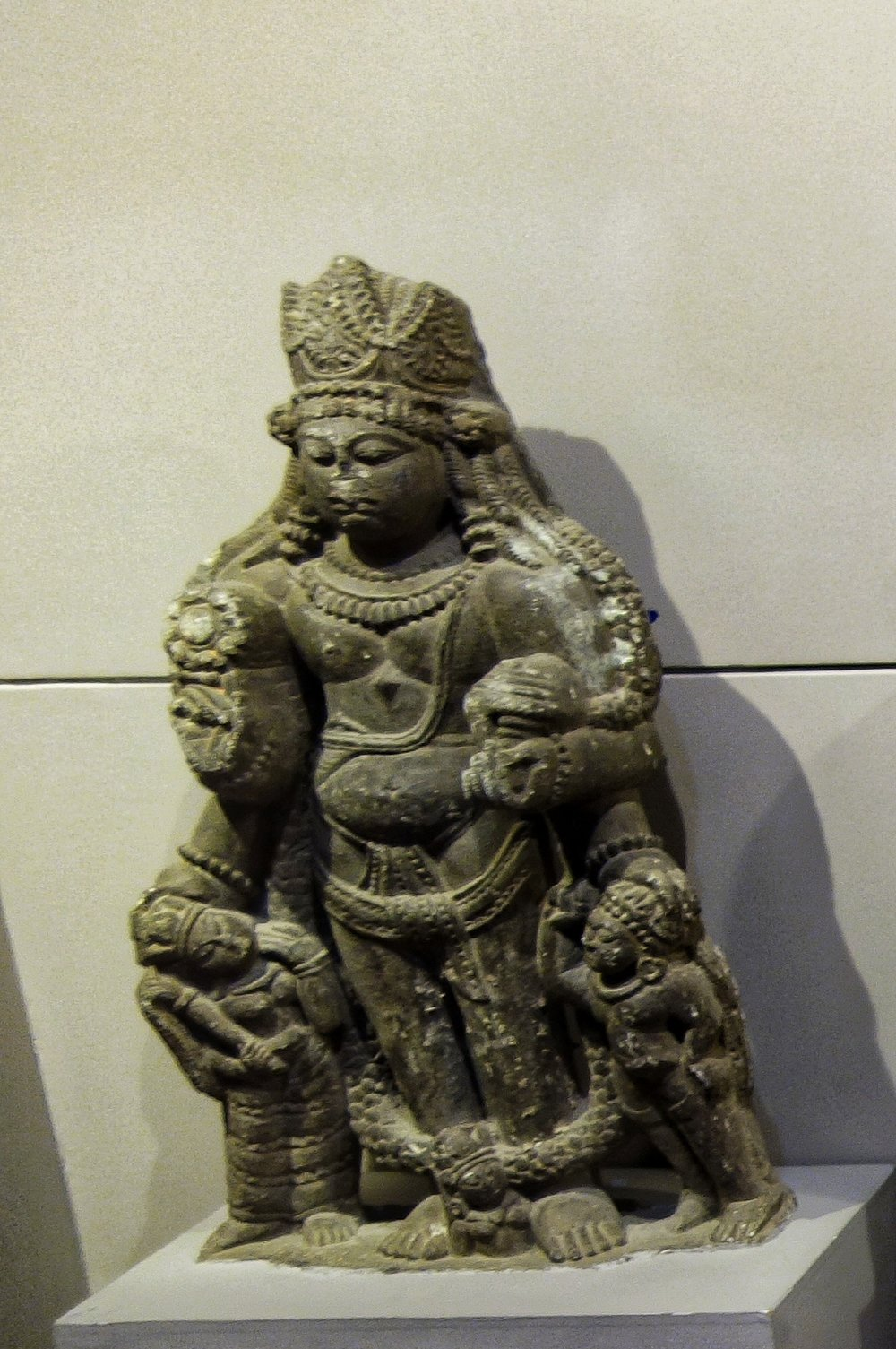 Male Figure : 9th Century, Stone