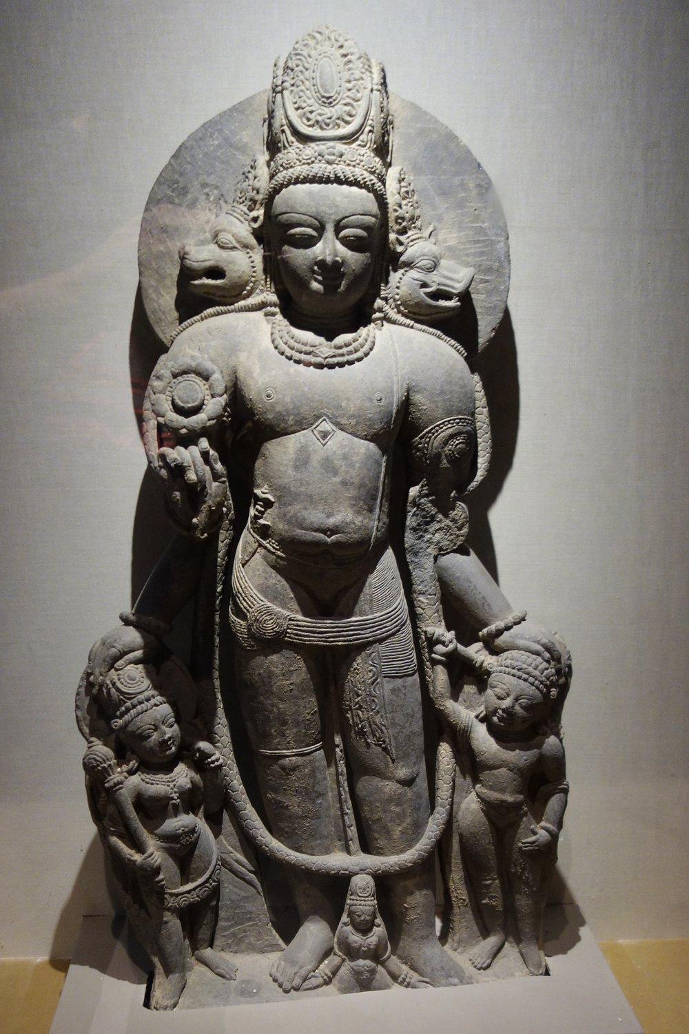 Vishnu : 12th Century, Stone