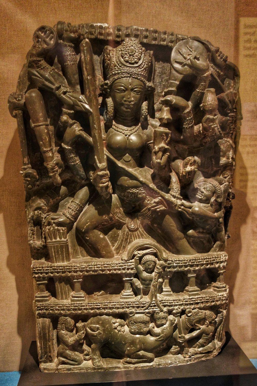 Durga : 8th Century, Stone, Pulwama