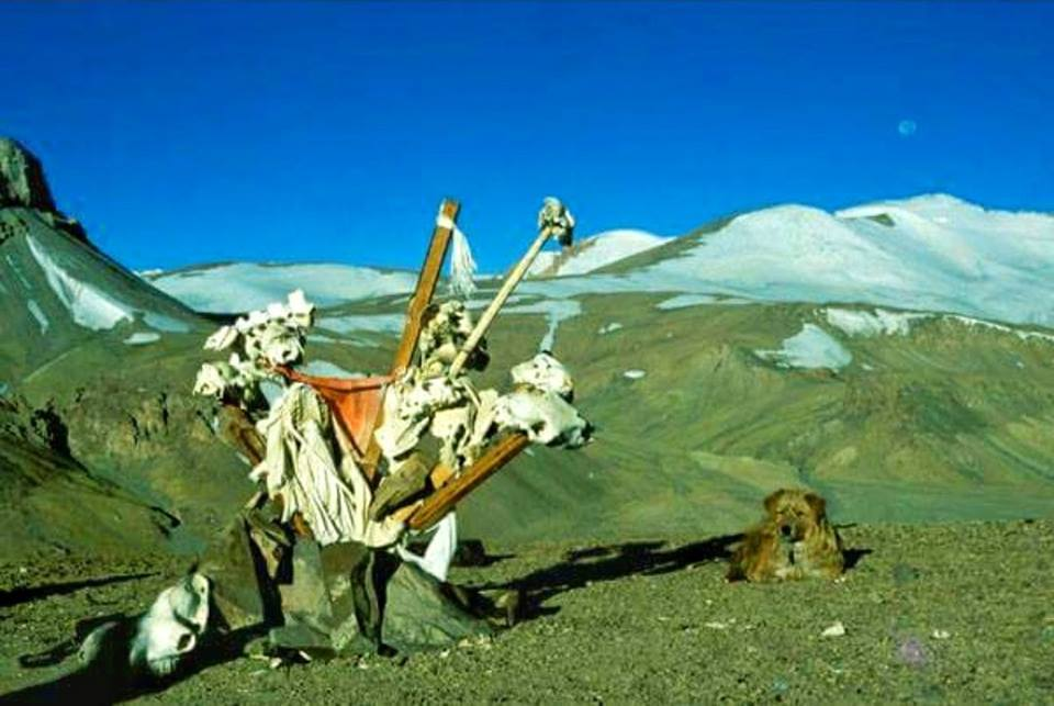 The Karakoram Pass