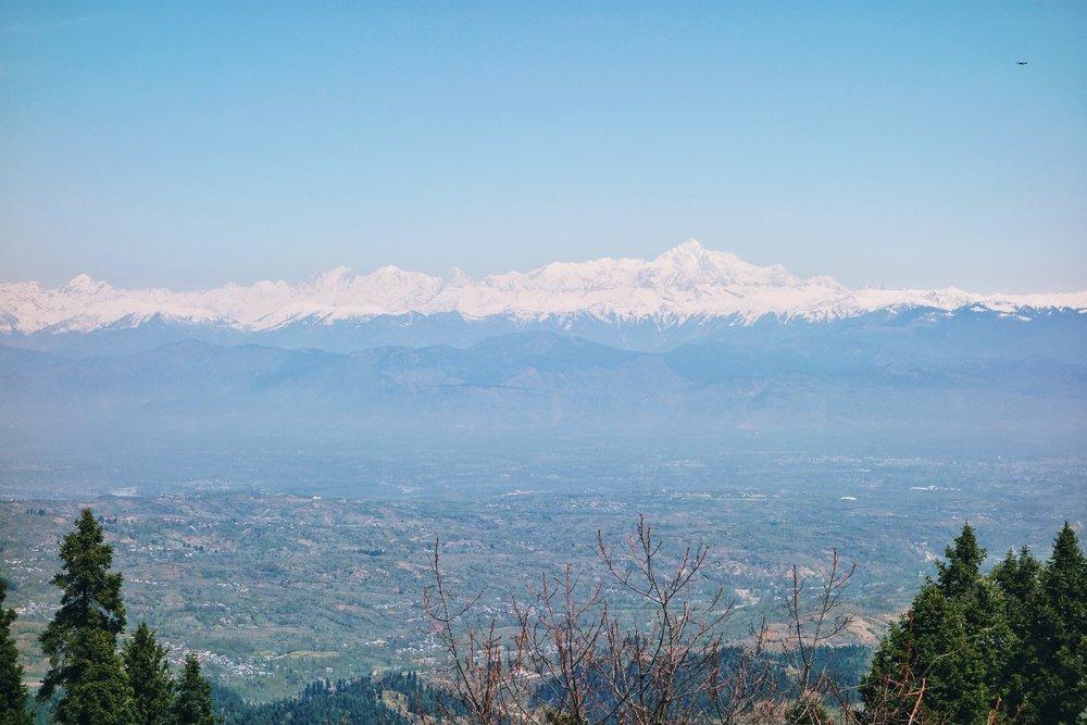 The Nanga Parbat as seen from Gulmarg