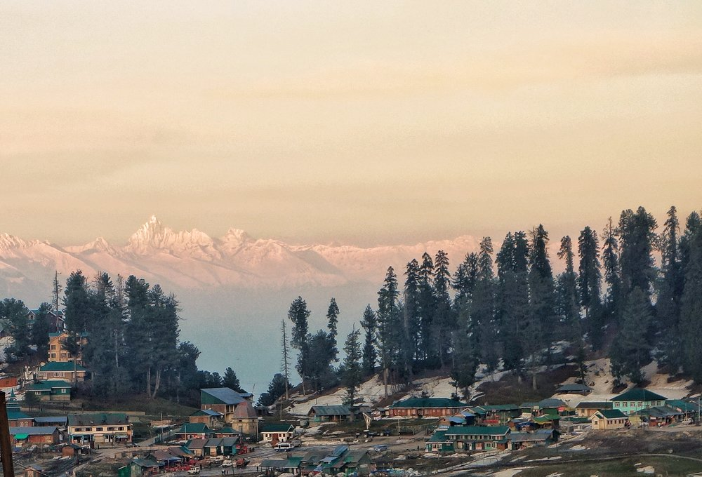 The Kolahoi as seen from Gulmarg
