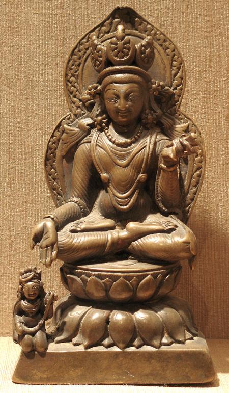 Crowned and Jeweled Buddha