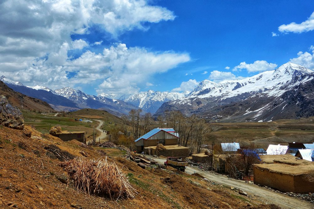 A Village in the Drass Valley