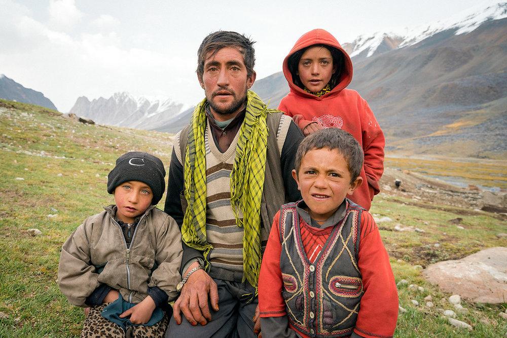 A Wakhi Family