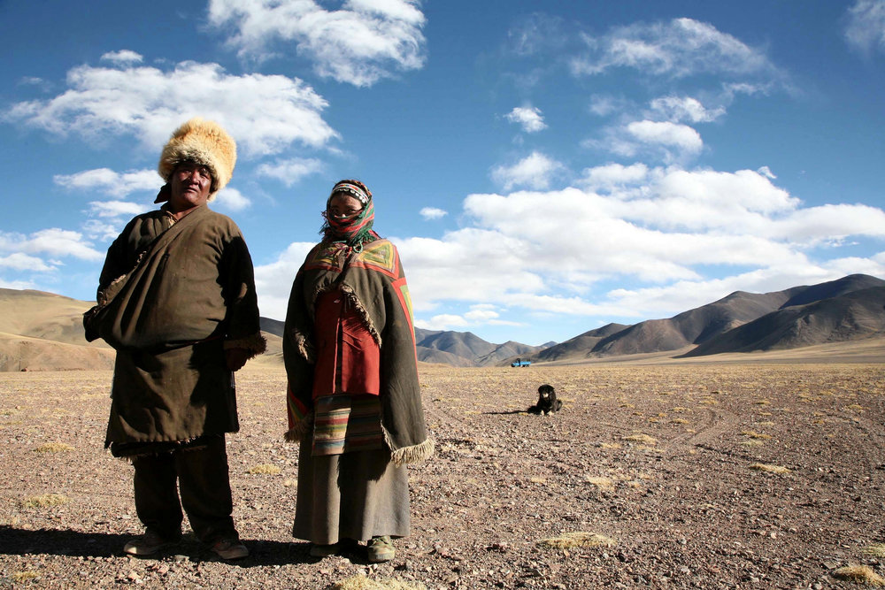 A Nomad Couple in Aksai Chin (https://www.flickr.com/photos/eriagn/)