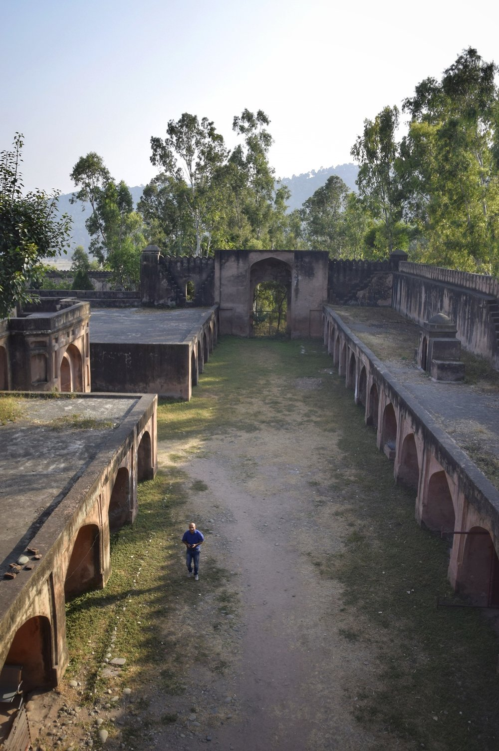 Inside the Chingus Sarai / Fort