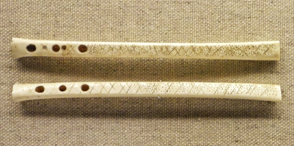 Tajik Flute Made of Eagle Bone