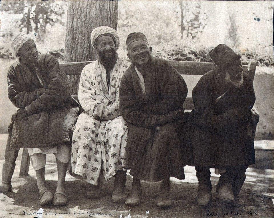 Uighur Hajis in Leh