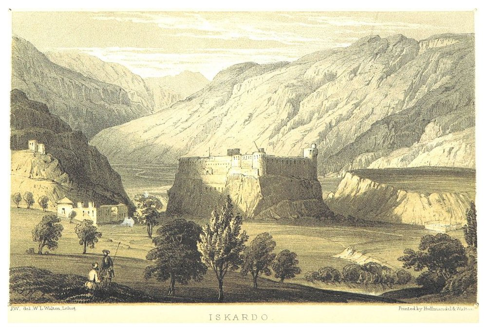 Skardu by Thompson 1852