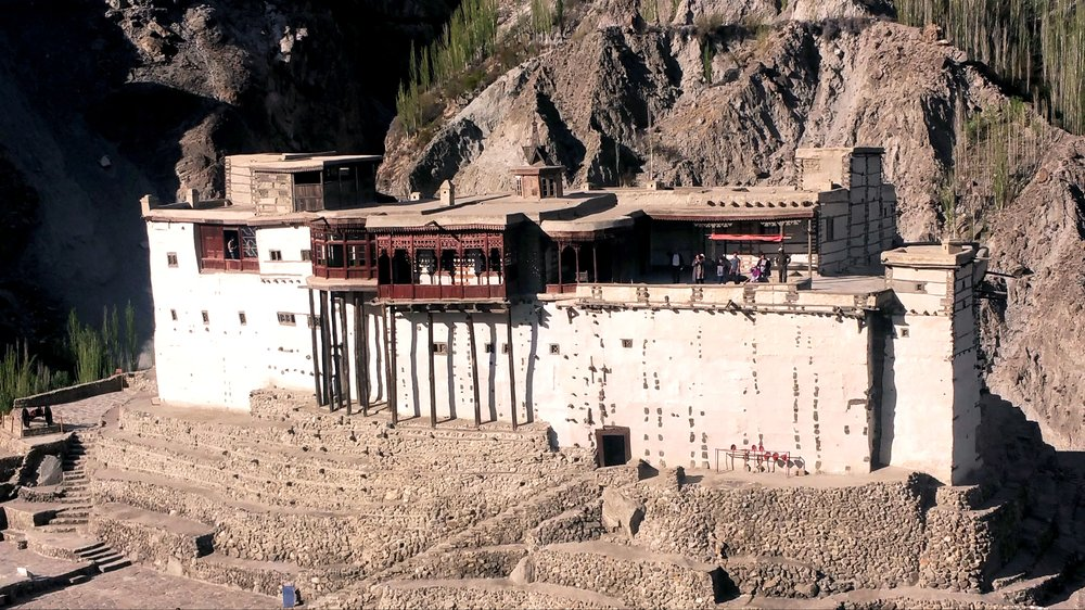 The Baltit Fort in Hunza