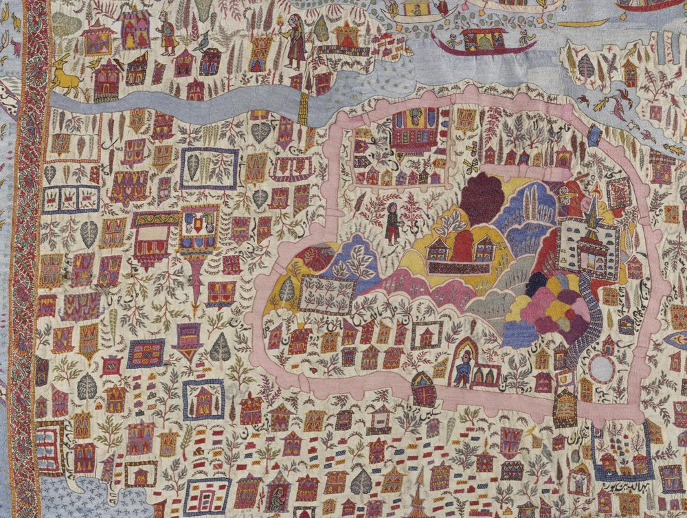 15 The Hari Parbat Fort area.