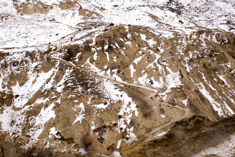 Some where in Zanskar. Pic by Nitin Gupta