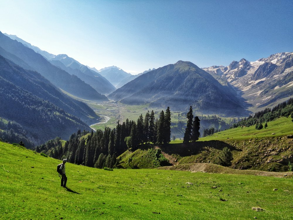 View of Sonamarg from Table Top