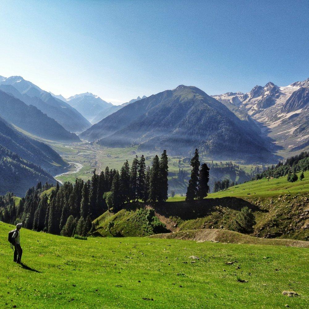 The Kashmir Great Lakes Trek -