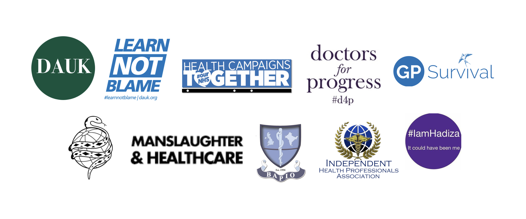 Press Release Dauk Co Ordinates 11 Medical Organisations Urging