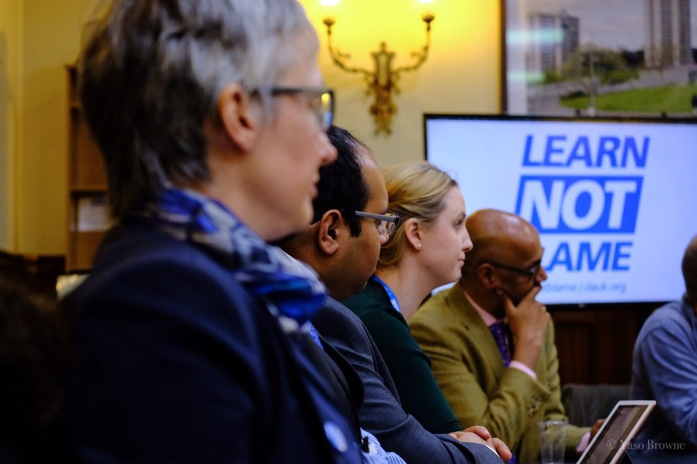 From foreground: Dr. Jenny Vaughan, Dr. Rinesh Parmar, Dr. Samantha Batt Rawden and Professor Edwin Jesudason during the launch meeting. Copyright Yaso Browne