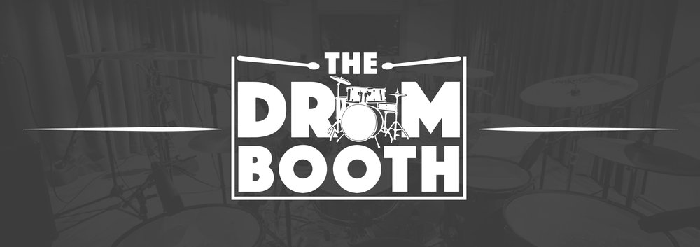The Drum Booth Banner
