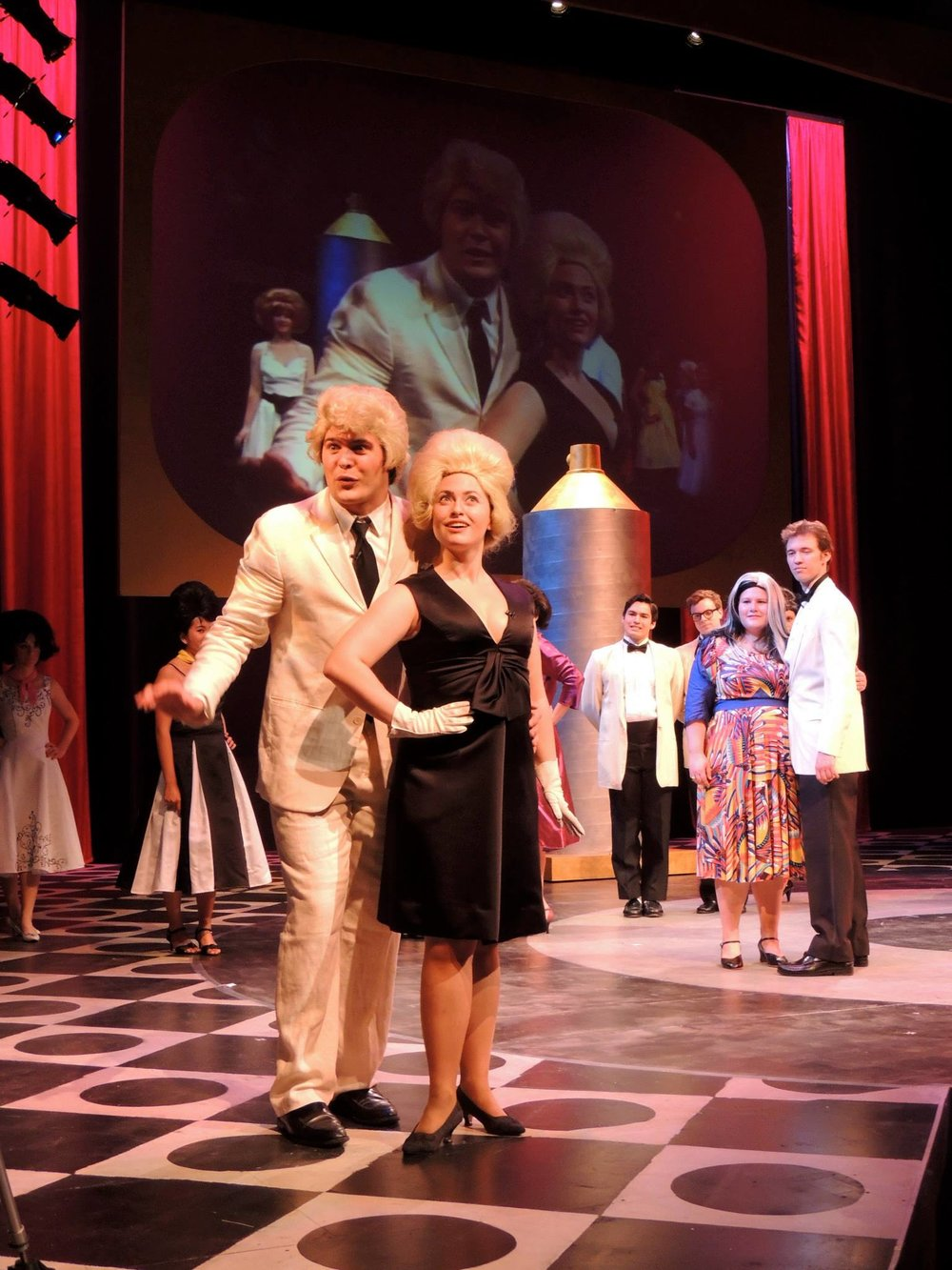 As Velma von Tussle in HAIRSPRAY (Keck Theatre) Courtesy Domitille Angoulvant