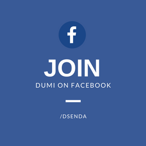 Join Dumi on Facebook