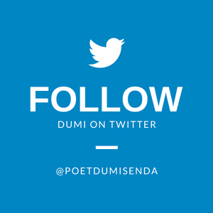 Follow Dumi on Twitter