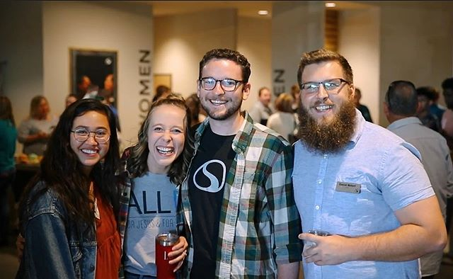 We're halfway through the week and nothing but smiles! Emotion captured at the opening of our @stonegatechurch by @mikamitchell.  #SPACEArchitecture #SPACEDesign #ChurchArchitecture #ChurchDesign #Architecture #InteriorDesign #Churches #Church #StonegateChurch