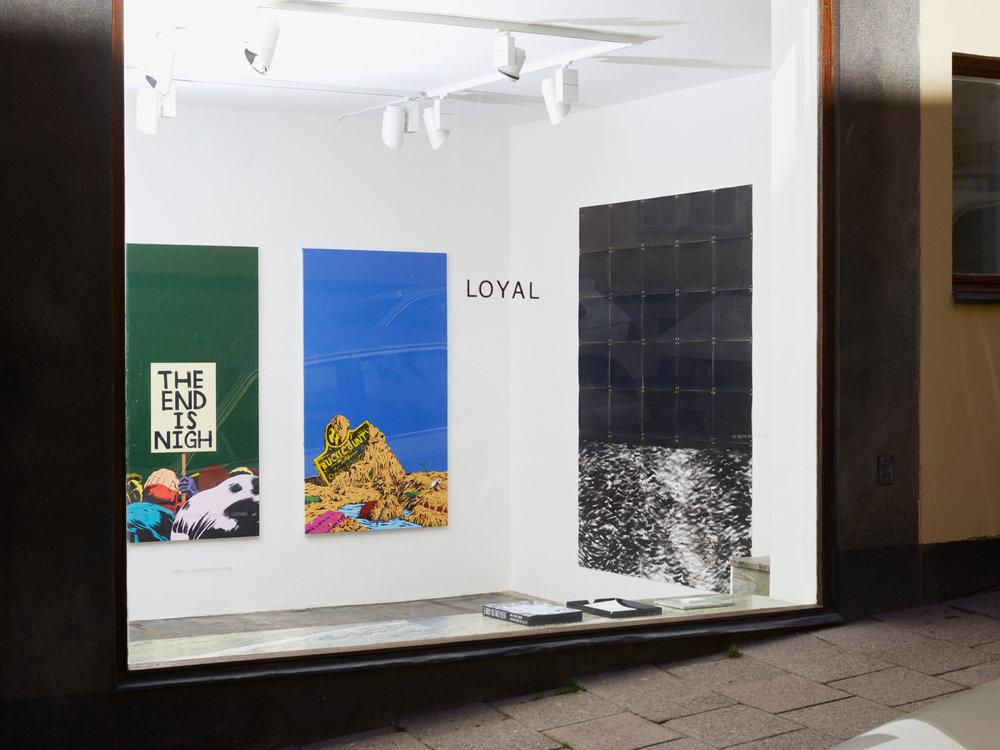Mark Thomas Gibson, Gauntlet , Loyal Gallery, Stockholm 2018