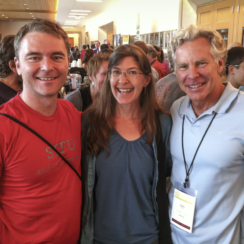 At the 2012 Ancestral Health Symposium at Harvard with two of my heroes: Robb Wolf and Mark Sisson -