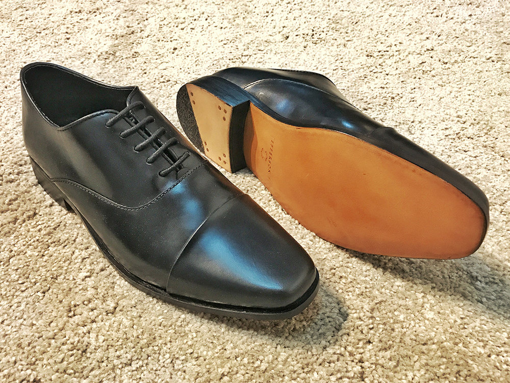 Pleated Oxford