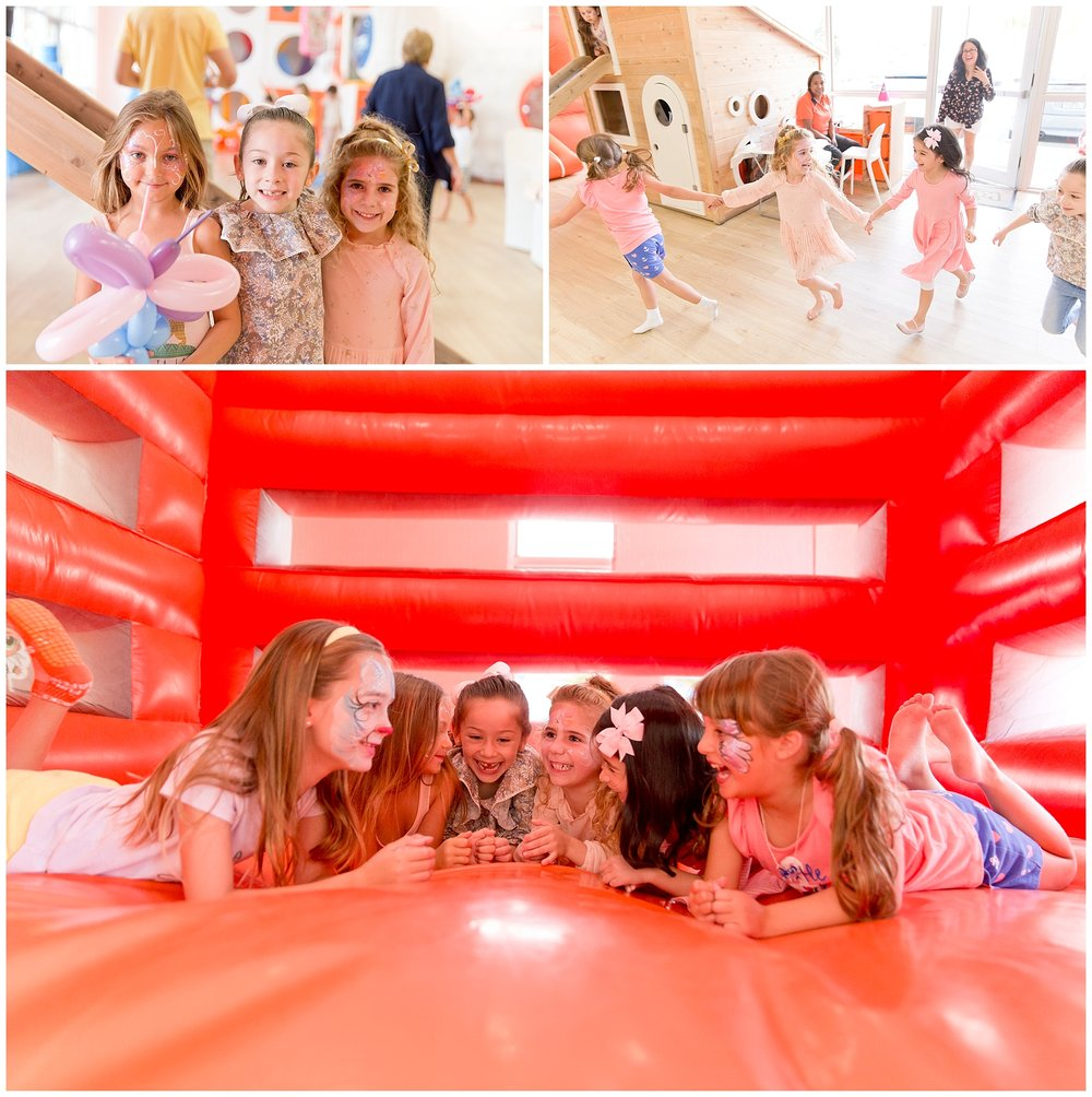 Kids in bounce house in Miami Florida