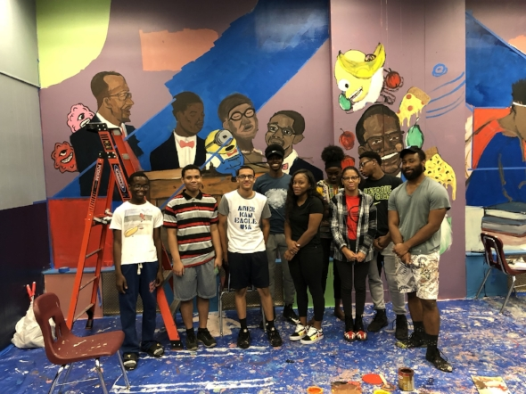 2018 Mural Design and Creation Team
