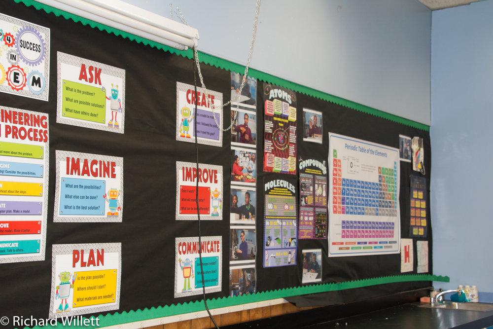 - STEM Center Bulletin Boards