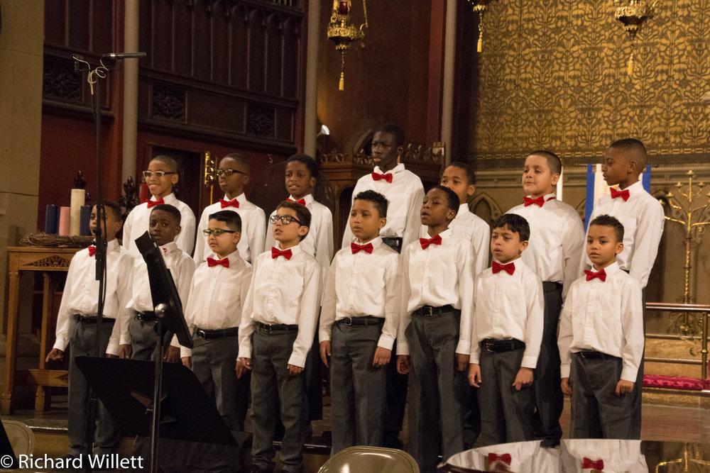 Apprentice Chorus, third and fourth grade
