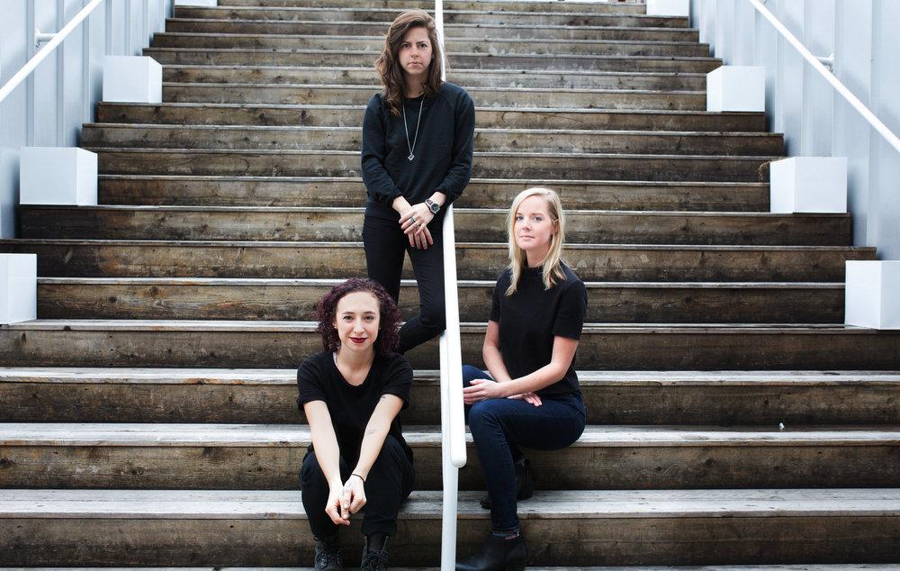 Co-Founders Claire Humphreys, Kristen Ablamsky and Rachel Renock