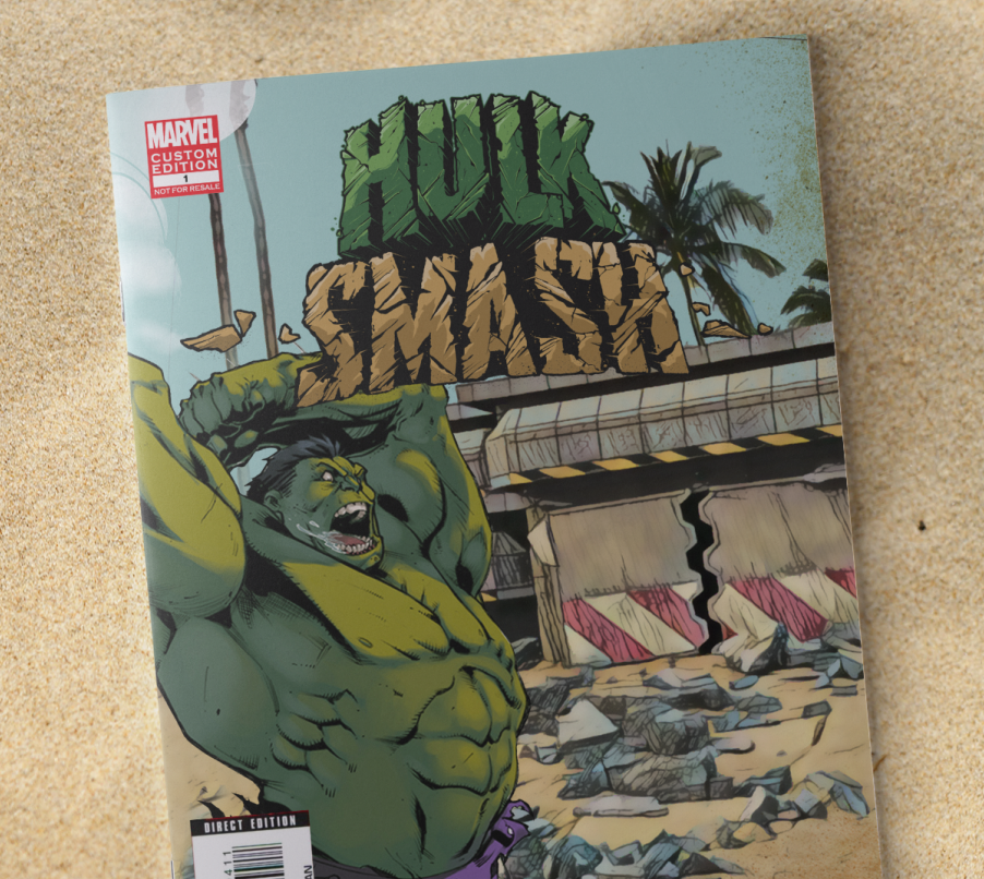 DISNEY MARVEL - HULK SMASH EXPERIENCE