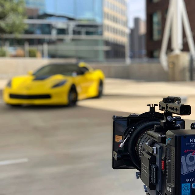 Yellow and #red have never gone together as well as this. We love shooting on RED every chance we get!  #red #video #film #videoproduction #videoproductiondallas #autovideos #reddigitalcinema #cinematography #production #producer #corvette #dfw #dallas #smallbusiness #film