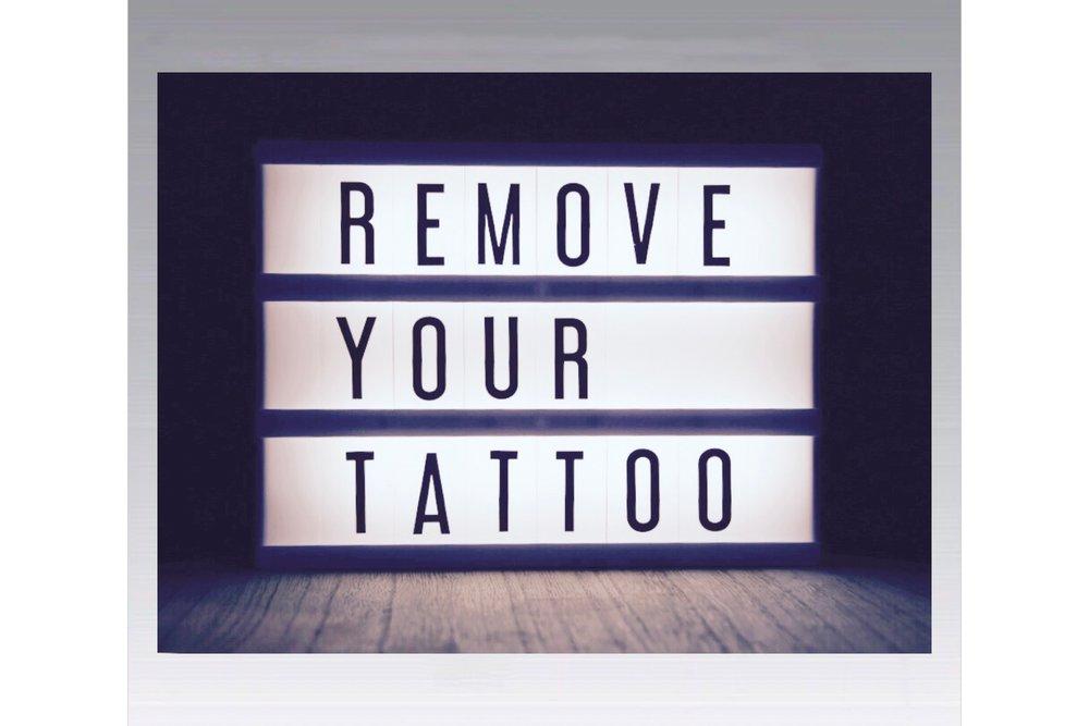 saline tattoo removal