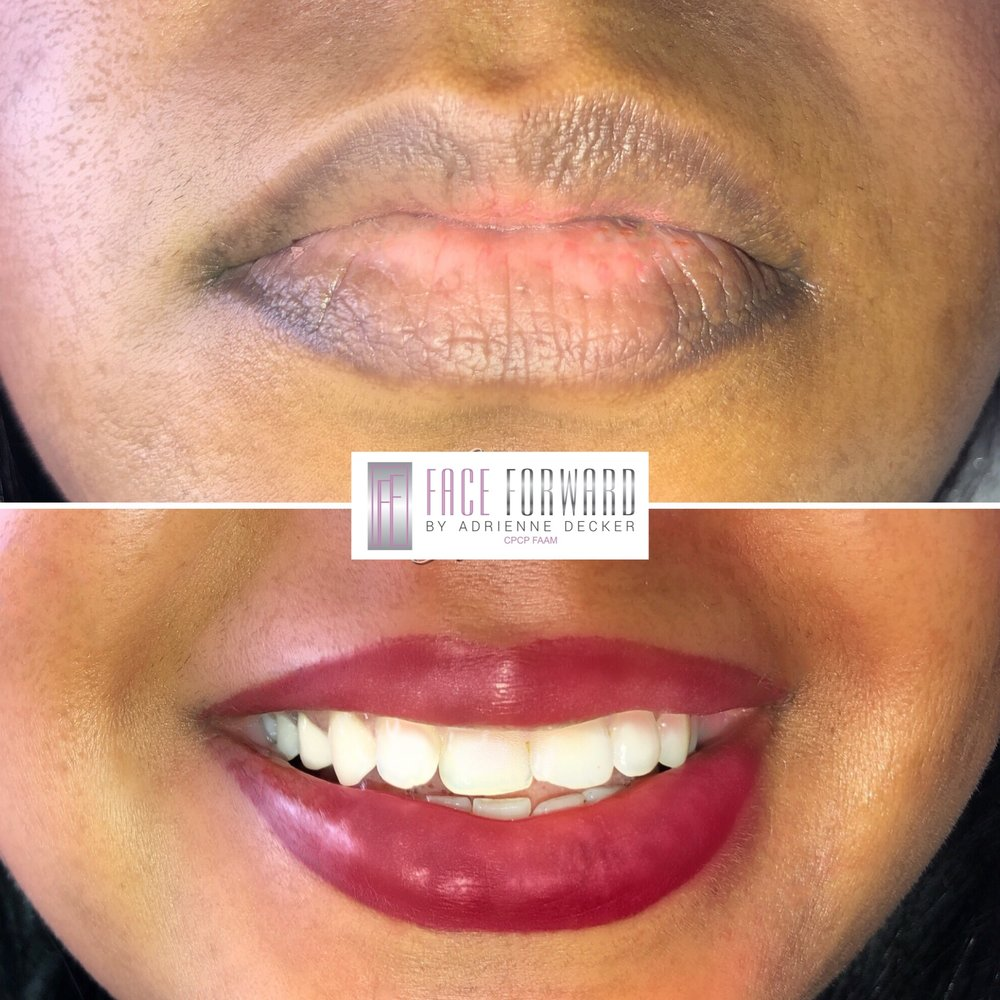 Solid Shaded Permanent Lip Color