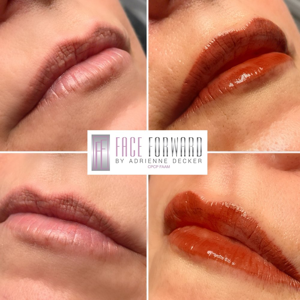Ombrè Shaded Permanent Lip Color