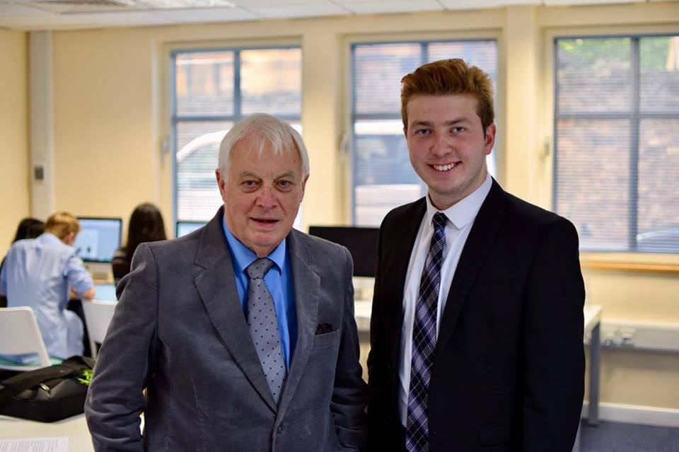 The first interview of Oxide Radio under Theo's management was with Lord Patten, Chancellor of the University of Oxford, in October 2017.