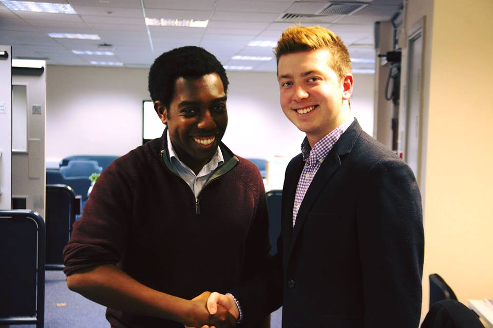 Amatey Doku, NUS Vice-President, came in for an interview with Theo on Oxford Today in 2018.