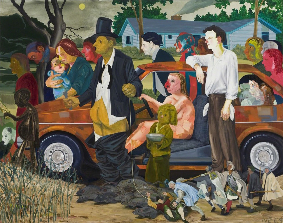 The Triumph of Poverty , Contemporary Art Museum St. Louis, April 2014. A poetry reading inspired by the work of Nicole Eisenman on the occasion of her mid-career museum retrospective, featuring poets Mary Jo Bang, Devin Johnston and Carl Phillips.