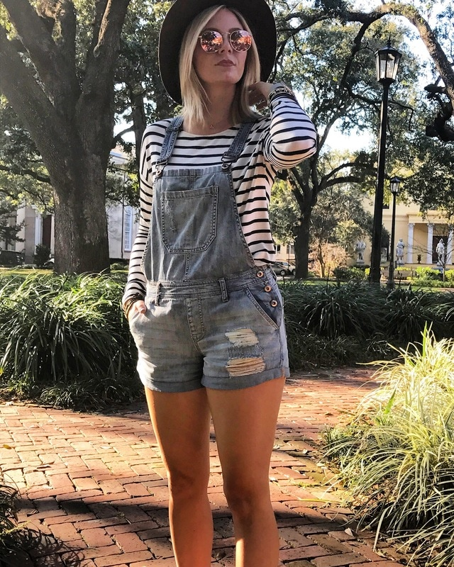 Saturday's Outfit - choice while we strolled through Forsyth Park & made our way to Broughton Street.