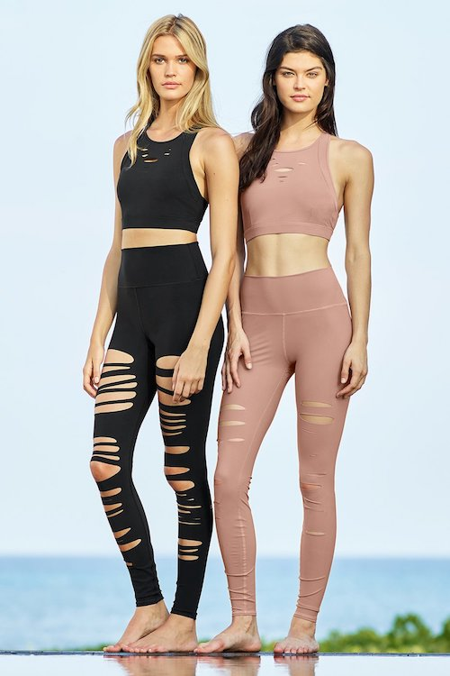 Like I said, I'm all for sets right now. This ripped set from Alo, I am DYING to get.  top  |  leggings