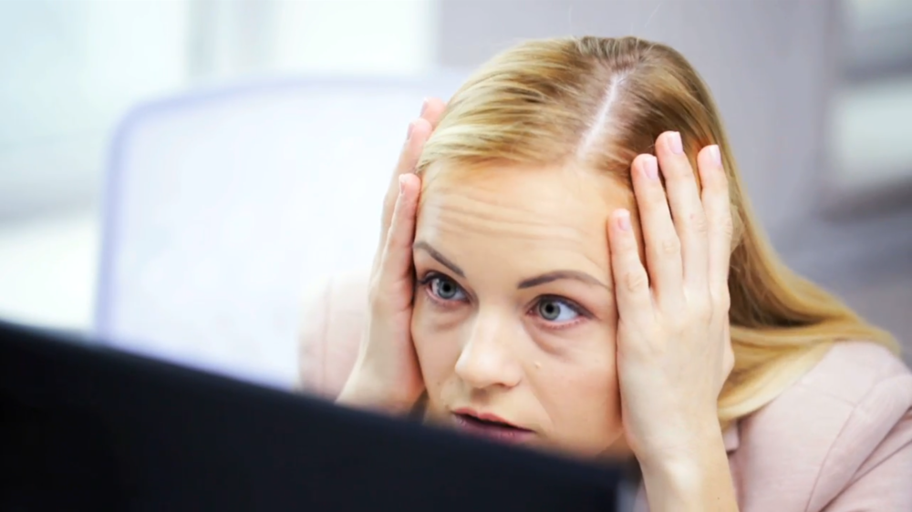 Woman unsure how to proceed with SharePoint project.