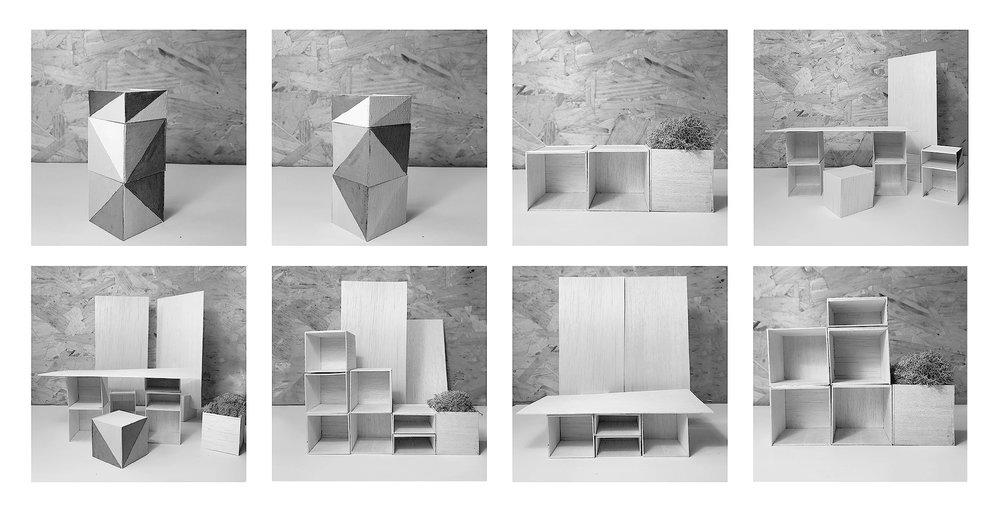 physical model photographs