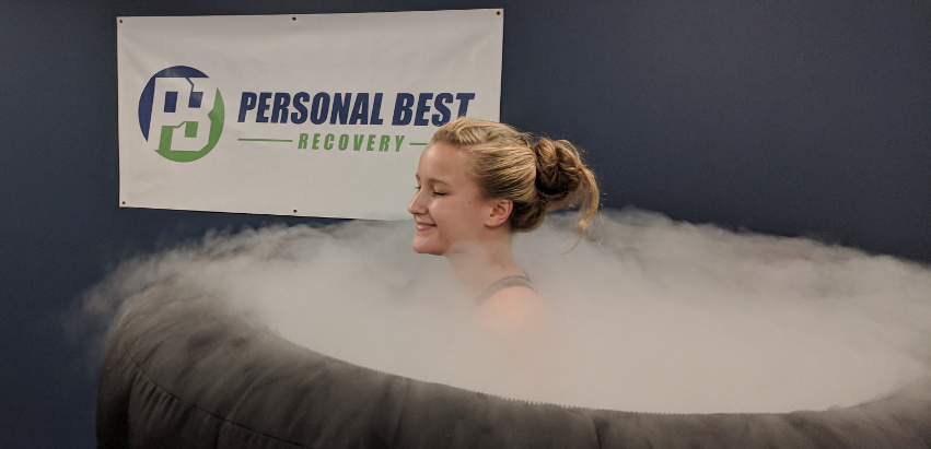 Whole Body Cryotherapy at the Tournament - A 3 minute session is all you need to Help You recover.