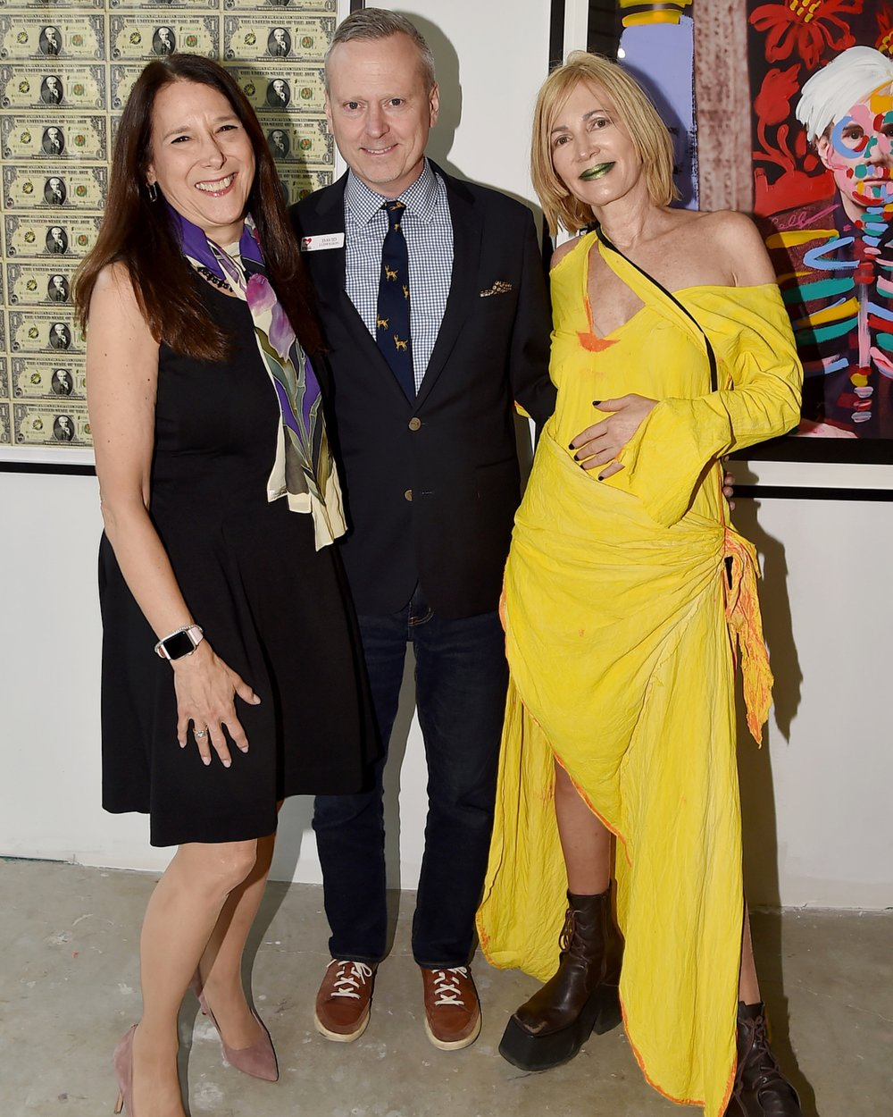 Karen Pearl CEO of GLWD with David Ludwigson VP of GLWD and Karen Bystedt.