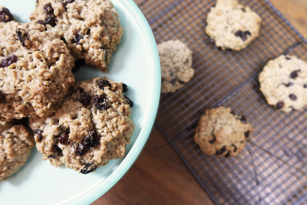 oatmeal & raisin cookie recipe
