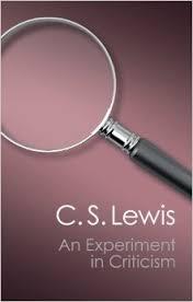 experiment in criticism